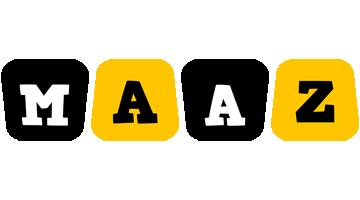 Maaz boots logo