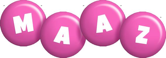 Maaz candy-pink logo