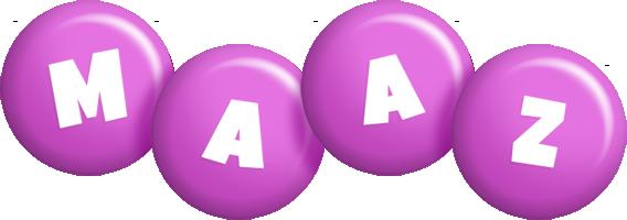 Maaz candy-purple logo