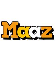 Maaz cartoon logo