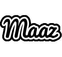 Maaz chess logo