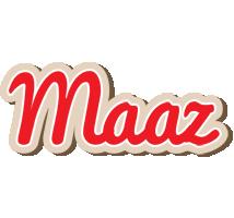 Maaz chocolate logo