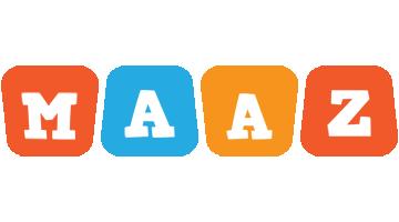 Maaz comics logo