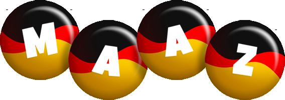 Maaz german logo