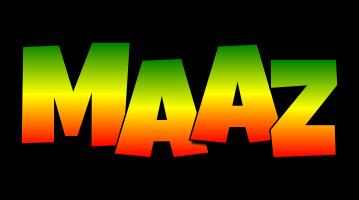 Maaz mango logo