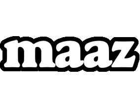 Maaz panda logo