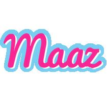 Maaz popstar logo