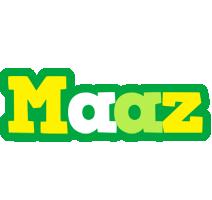 Maaz soccer logo