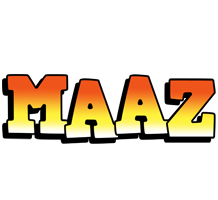 Maaz sunset logo