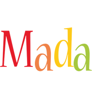 Mada birthday logo