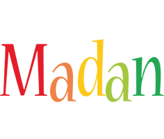 Madan birthday logo