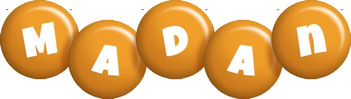 Madan candy-orange logo