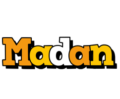 Madan cartoon logo