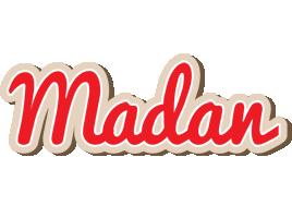 Madan chocolate logo