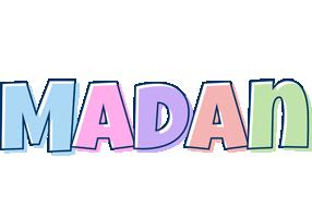 Madan pastel logo
