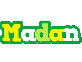 Madan soccer logo