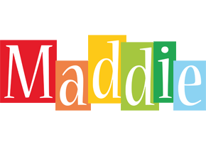 Maddie colors logo