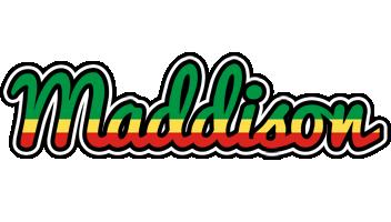 Maddison african logo