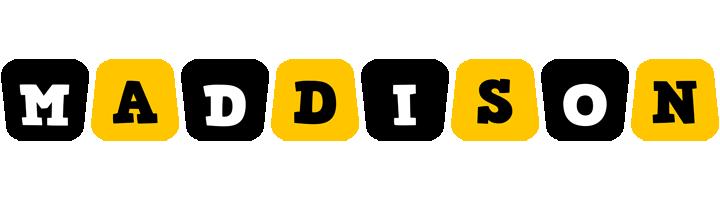 Maddison boots logo
