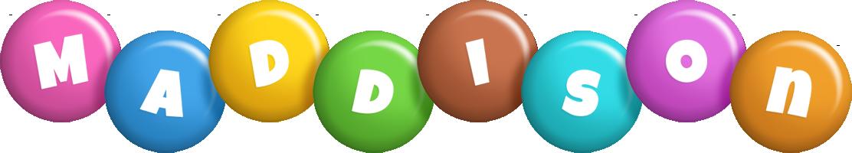 Maddison candy logo