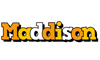 Maddison cartoon logo
