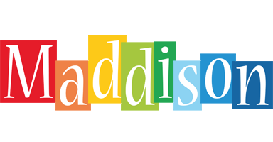 Maddison colors logo