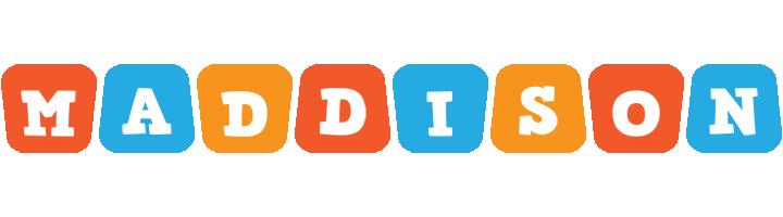 Maddison comics logo
