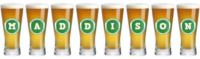 Maddison lager logo