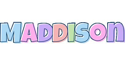 Maddison pastel logo