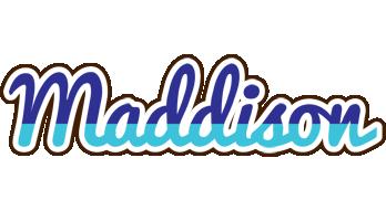 Maddison raining logo