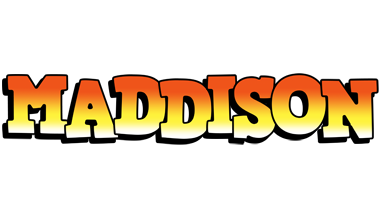 Maddison sunset logo