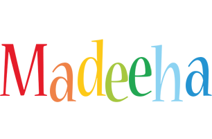 Madeeha birthday logo