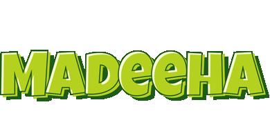 Madeeha summer logo