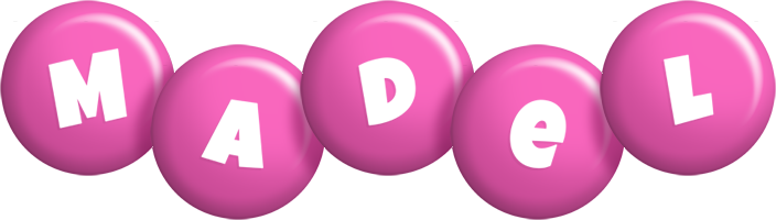 Madel candy-pink logo