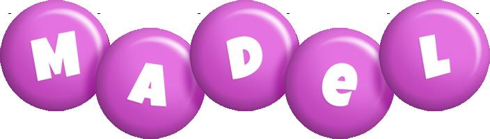 Madel candy-purple logo