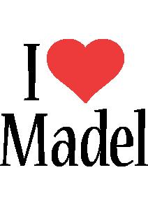 Madel i-love logo