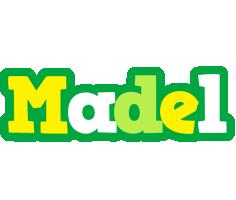 Madel soccer logo