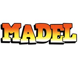 Madel sunset logo