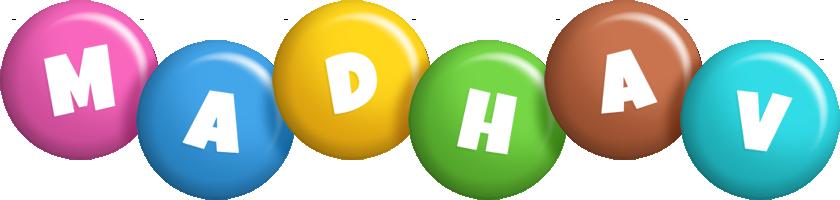 Madhav candy logo