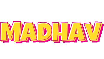 Madhav kaboom logo