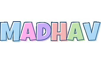 Madhav pastel logo