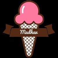 Madhav premium logo
