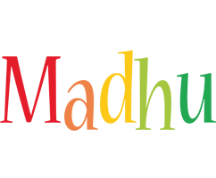 Madhu birthday logo