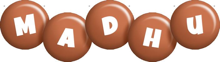 Madhu candy-brown logo