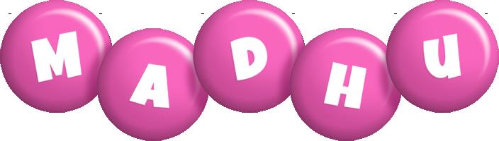 Madhu candy-pink logo