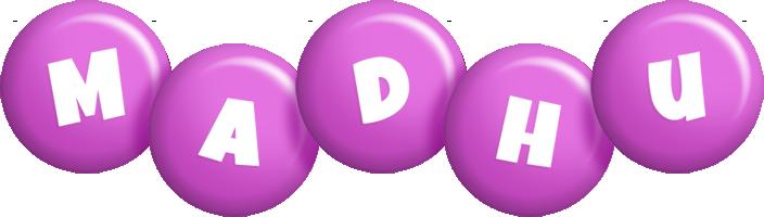 Madhu candy-purple logo
