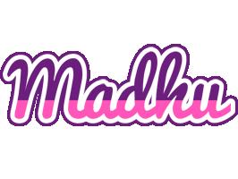 Madhu cheerful logo