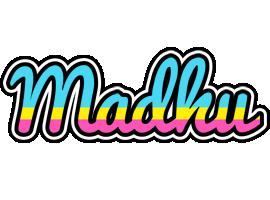 Madhu circus logo