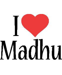 Madhu i-love logo