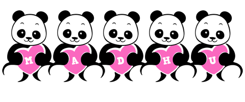 Madhu love-panda logo